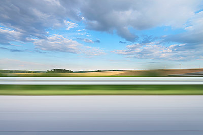 Motorway driving - p335m1216553 by Andreas Körner