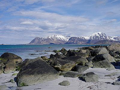 Landscape, lofoten - p945m1497411 by aurelia frey