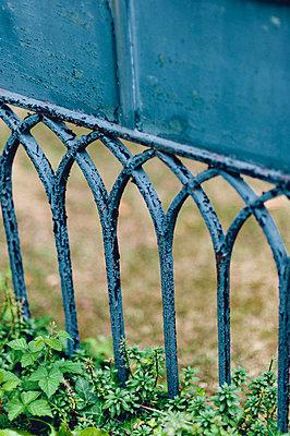 Blue gate - p1088m1034548 by Martin Benner