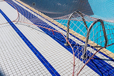 Net over swimming pool - p280m1111710 by victor s. brigola