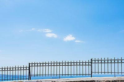 Fence, Greece - p488m1039601 by Bias