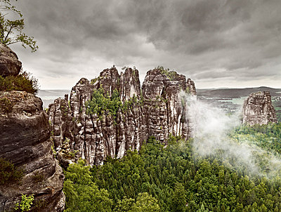 Elbe Sandstone Mountains - p9180017 by Dirk Fellenberg