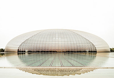 National Theater Beijing Paul Andreu - p1202m1061302 von Jörg Schwalfenberg