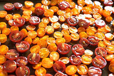 Cherry Tomatoes - p1106m1026377 by Angela DeCenzo