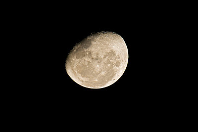 Africa, Full moon - p300m980582f by Fotofeeling
