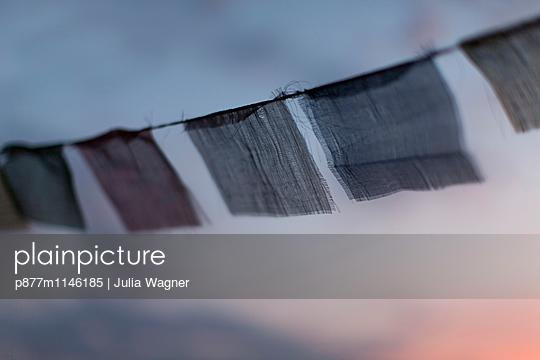 Gebetsfahne - p877m1146185 von Julia Wagner