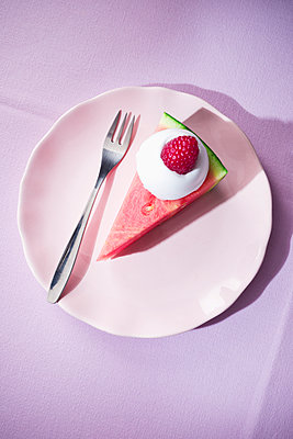 Melon pie - p1149m2089363 by Yvonne Röder