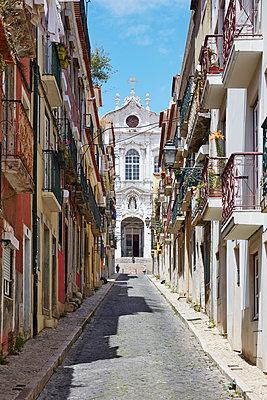 Kirche in Lissabon - p1272m1154345 von Steffen Scheyhing