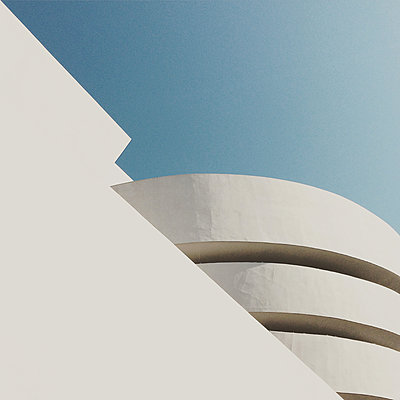 USA, New York, Manhattan, Guggenheim Museum - p300m1068612 by Sebastian Gauert