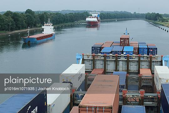 Containerschiff - p1016m1071935 von Jochen Knobloch