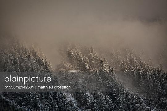 Wintereinbruch - p1553m2142501 von matthieu grospiron
