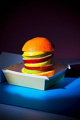 Veggie Burger - p1149m2089372 by Yvonne Röder