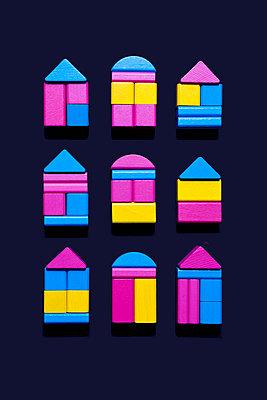 Häuser - p1149m2028491 von Yvonne Röder