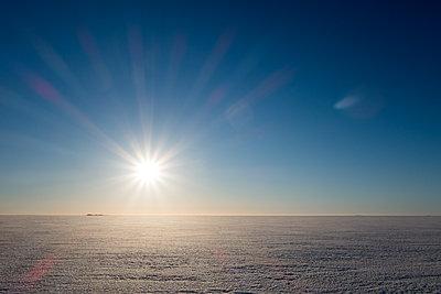 Auf dem zugefrorenen Bottnischen Meerbusen - p1079m1182236 von Ulrich Mertens