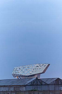 New harbour building in Antwerp - p587m1155084 by Spitta + Hellwig