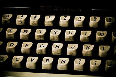 Alte Tastatur - p4450300 von Marie Docher