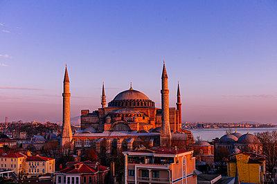 Türkei, Istanbul, Moschee, Hagia Sophia - p1085m2203576 von David Carreno Hansen