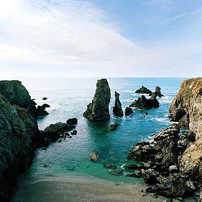 Port-Coton Belle-Ile Brittany France - p1097m882234 by Mélanie Bahuon