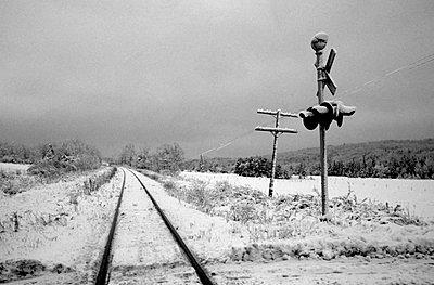 Railroad crossing - p4421138f by Design Pics
