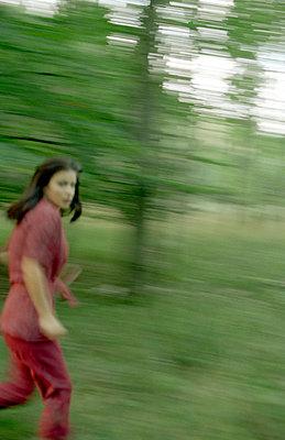 Wegrennen - p4470279 von Anja Lubitz