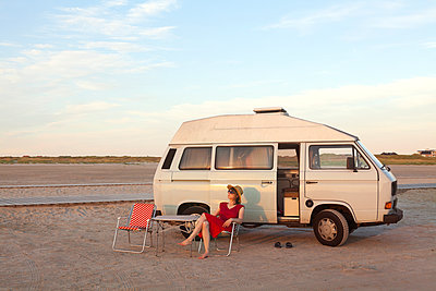 Abendsonne - p454m1195036 von Lubitz + Dorner