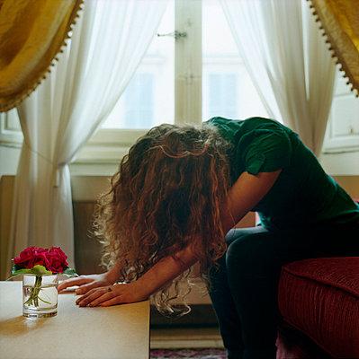 Despair - p9510031 by Caterina Sansone