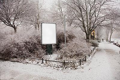 Weisses Schild - p1495m1592146 von Uwe Arens