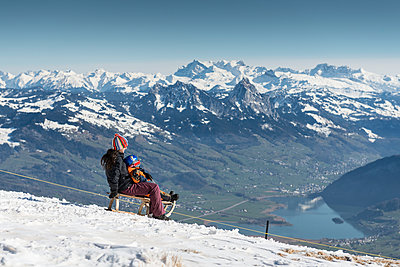 Sledging - p282m945957 by Holger Salach