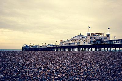 Brighton Pier - p432m854559 by mia takahara