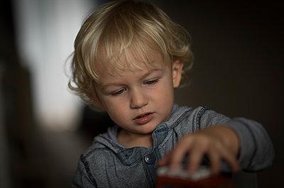 Little Boy - p552m2020160 by Leander Hopf
