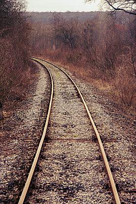 Bahnschienen - p879m1584183 von nico