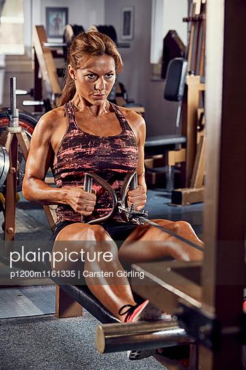 Bodybuilding - p1200m1161335 von Carsten Goerling