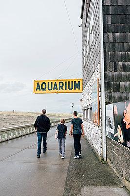 Seaside Oregon Beachfront - p1262m1191168 by Maryanne Gobble