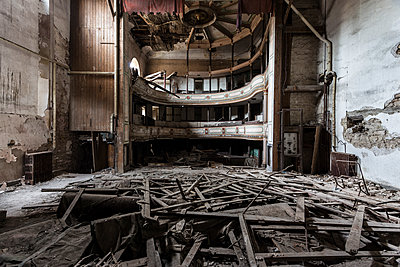 Abandoned Theatre - p1440m1497528 by terence abela