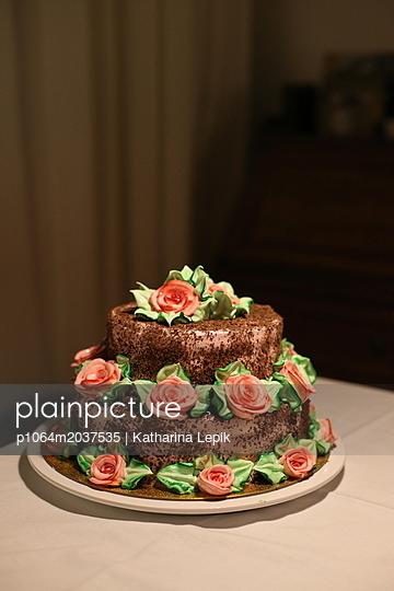 Hochzeitstorte - p1064m2037535 von Esmeralda