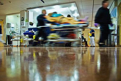 Hospital emergency room - p1418m1572475 by Jan Håkan Dahlström