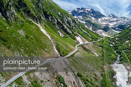 Switzerland, Valais, Nufenen Pass - p300m2013054 von Stefan Schurr