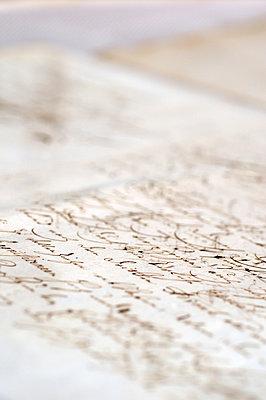 Brief, Alte Schrift - p1190m2038564 von Sarah Eick