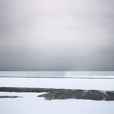 Meer im Winter - p1137m940630 von Yann Grancher