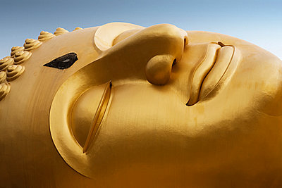 Lying buddha in thailand - p9247002f by Image Source
