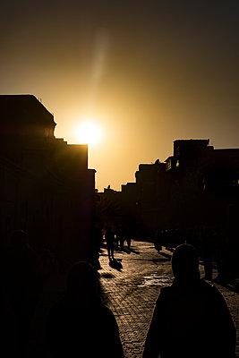 Abendstimmung in Marrakesch - p1243m1516712 von Archer