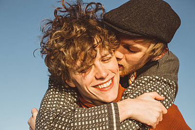 Couple together - p312m2079747 by Amanda Falkman