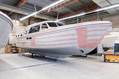 Ship building - p930m1424203 by Ignatio Bravo