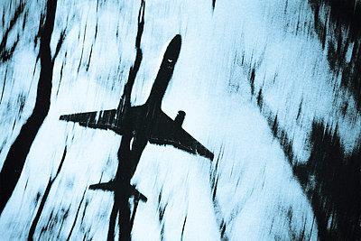 Flugzeug bei der Landung - p4170098 von Pat Meise