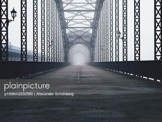 Old Elbe Bridge - p1696m2292980 by Alexander Schönberg