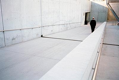 Man walking - p3880217 by Jim Green