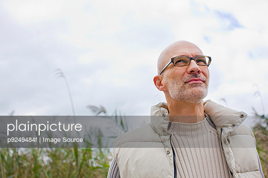 Man outdoors - p9249484f by Image Source