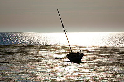 Sailing boat in Northern Germany - p4880367 by Bias