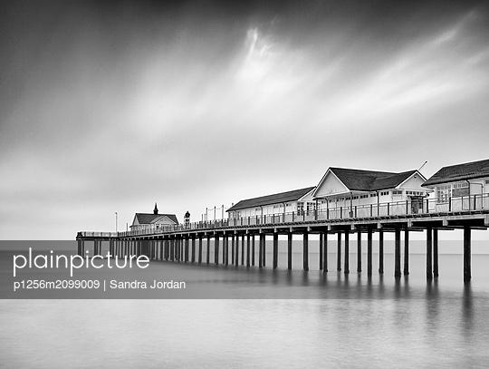 Southwold Pier - p1256m2099009 by Sandra Jordan