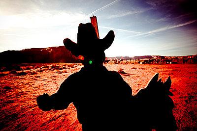 Cowboy - p4450603 von Marie Docher